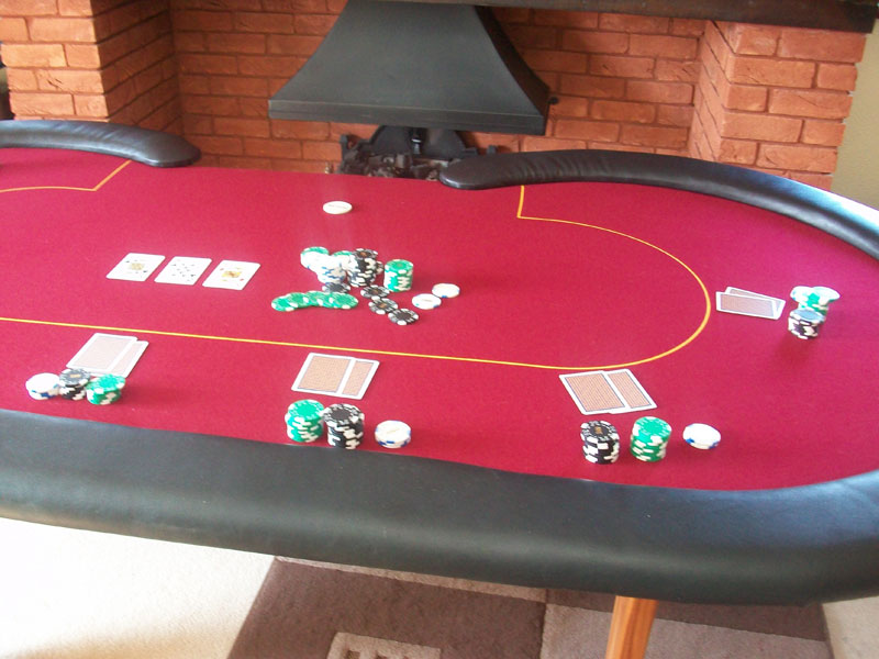 Custom poker table felt uk