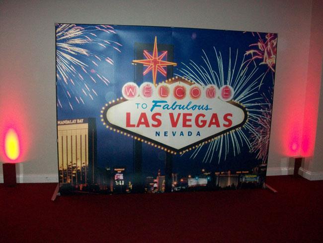 Las Vegas Backdrop Finesse Casinos